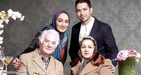 الهام حمیدی,الهام حمیدی و برادرش,الهام حمیدی و پدر و مادرش