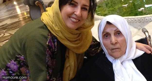 Marjaneh Golchin,مرجانه گلچین و مادرش,مادر مرجانه گلچین