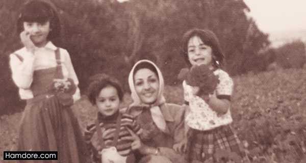 Hanieh Tavassoli,هانیه توسلی و مادرش,خواهران هانیه توسلی