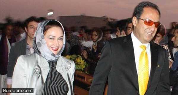 Katayoon Riahi,کتایون ریاحی و همسرش,فرشید رحیمیان شوهر کتایون ریاحی مسعود بهنود