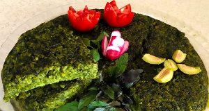 آموزش طرز تهیه کوکو اسفناج و رازهای پخت کوکوی اسفناج خوشمزه