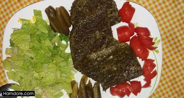 طرز تهیه کوکو سبزی,kookoo sabzi,کوکو سبزی,کوکو سبزی با سبزی خشک