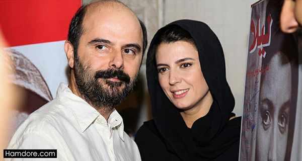 Leila Hatami,لیلا حاتمی و همسرش,علی مصفا شوهر لیلا حاتمی