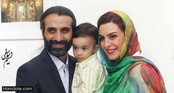 Mahchehreh Khalili,ماه چهره خلیلی و همسرش,پرواز اشرفی پسر ماه چهره خلیلی