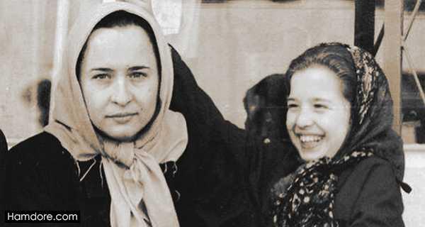 Mehraveh Sharifinia,مهراوه شریفی نیا و مادرش,آزیتا حاجیان مادر مهراوه شریفی نیا