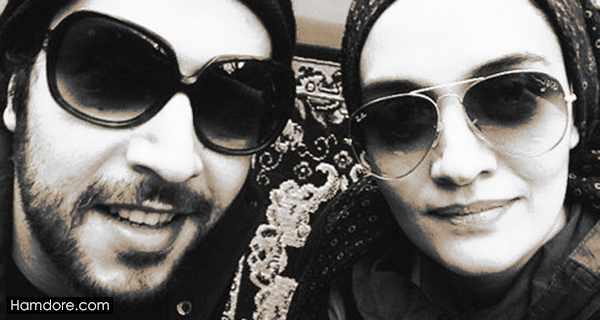 mitra hajjar,میترا حجار و همسرش,سینا حجازی همسر میترا حجار