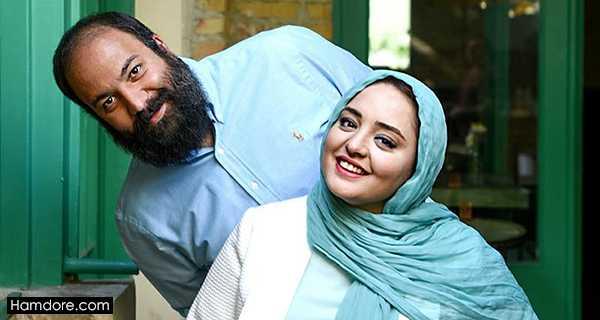 kv's lplnd,نرگس محمدی و همسرش,علی اوجی شوهر نرگس محمدی