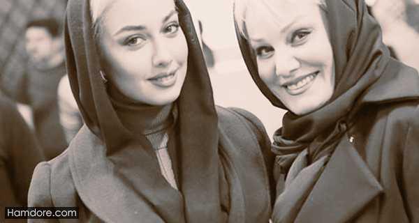 Sadaf Taherian,صدف طاهریان و مادرش,کشف حجاب صدف طاهریان بدون سانسور