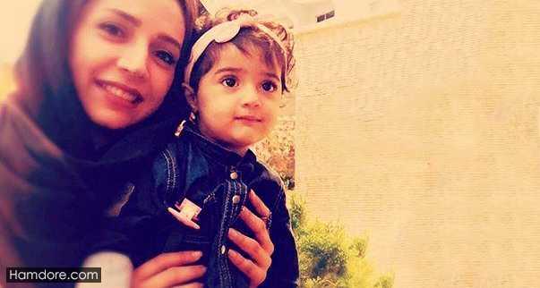 Shabnam Gholikhani,شبنم قلی خانی و فرزندش,شانا دختر شبنم قلی خانی