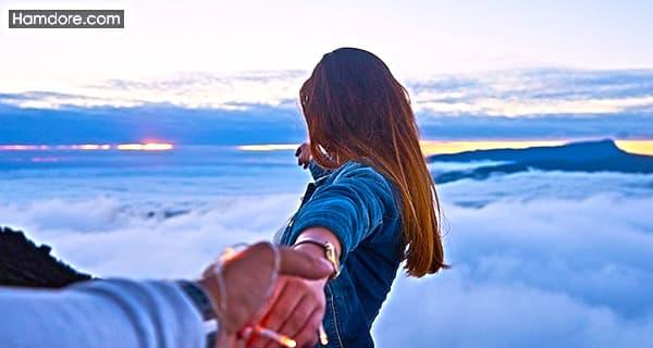 پیامک عاشقانه,جملات زیبا رمانتیک,متن های عاشقانه,جمله های عاشقانه