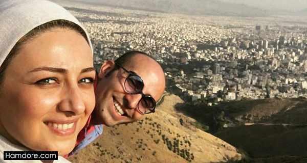 Vida Javan,ویدا جوان و همسرش,آیلا تهرانی شوهر ویدا جوان