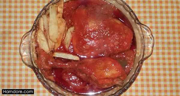 خورش مرغ,khoresh morgh,خورشت مرغ,طرز تهیه خورش مرغ,دستور پخت خورش مرغ, o,va lvy