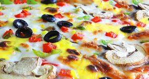 آموزش طرز تهیه پیتزا مخلوط خانگی و اصول پخت پیتزا مخلوط خوشمزه
