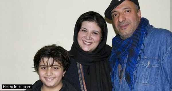 Rima Raminfar , ریما رامین فر و پسرش آیین , امیر جعفری همسر ریما رامین فر