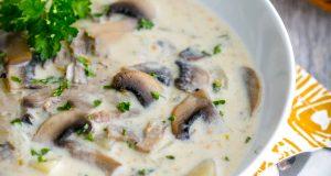 آموزش طرز تهیه سوپ قارچ و اصول پخت سوپ قارچ رستورانی خوشمزه