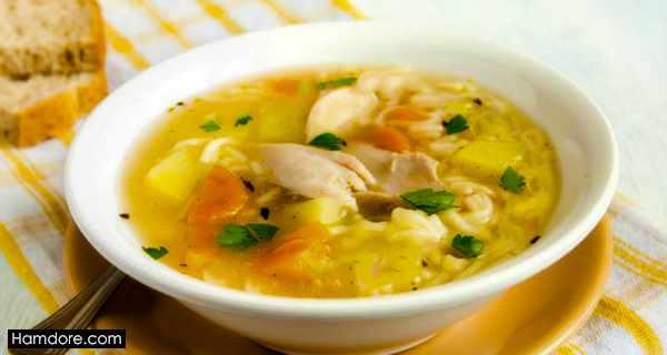سوپ مرغ,soup morgh,طرز تهیه سوپ مرغ,دستور پخت سوپ مرغ,s,\ lvy