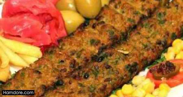 کباب خلیج فارس,طرز تهیه کباب خلیج فارس,دستور پخت کباب خلیج فارس