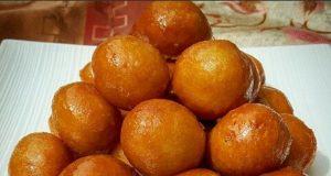 آموزش طرز تهیه لگیمات ساده و اصول شیرینی لگیمات عربی خوشمزه