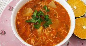 آموزش طرز تهیه سوپ ورمیشل و اصول سوپ رشته فرنگی خوشمزه