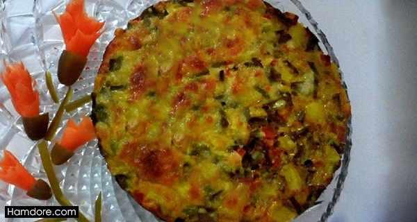 کوکو استانبولی,کوکو استانبولی,طرز تهیه کوکو استانبولی,دستور پخت کوکو استانبولی