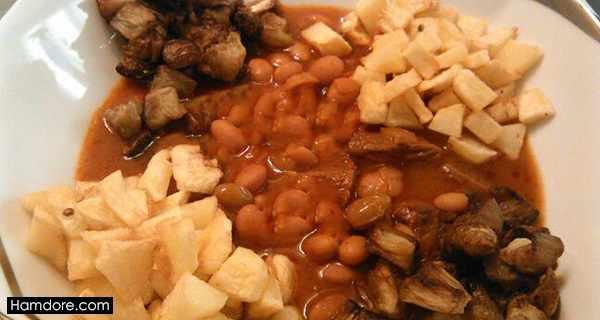 ارومیه خورش,ارومیه خورشت,اورمیه خورش,طرز تهیه ارومیه خورش,دستور پخت ارومیه خورش