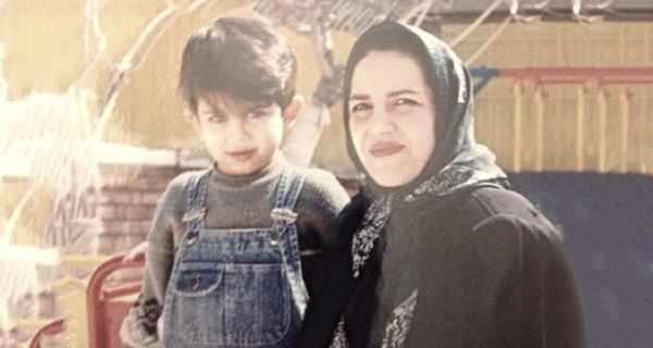 arsalan ghasemi , ارسلان قاسمی و مادرش , ارسلان قاسمی و دیبا صالحی