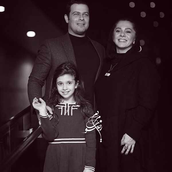 Pejman Bazeghi , پژمان بازغی و همسرش , مستانه مهاجر , دختر پژمان بازغی نفس بازغی