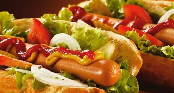 هات داگ , طرز تهیه هات داگ , دستور پخت هات داگ , هات داگ تنوری , هات داگ خانگی با قارچ و پنیر, Hot Dog, ihj nh'