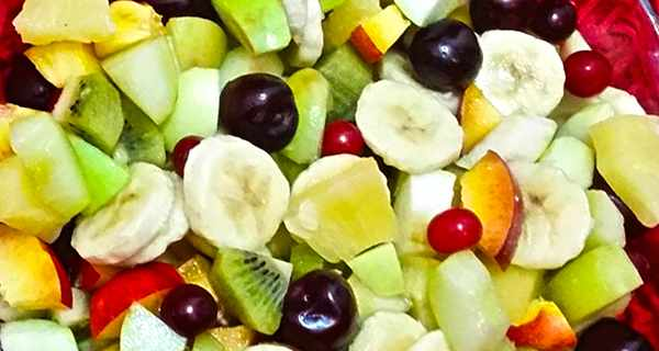 سالاد میوه , طرز تهیه سالاد میوه , دستور سالاد میوه , shghn ld i