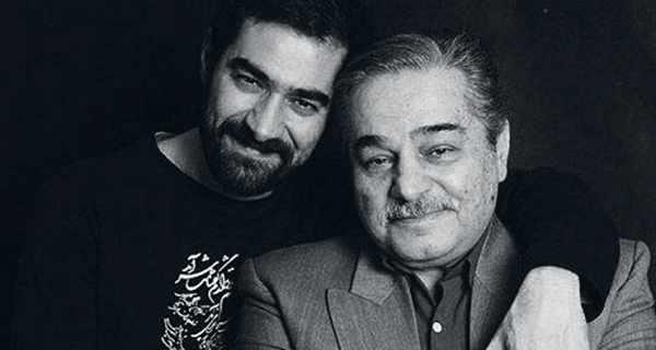 aihf psdkd , شهاب حسینی و پدرش , عکس خانواده شهاب حسینی