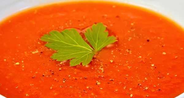 سوپ گوجه فرنگی , طرز تهیه سوپ گوجه فرنگی , دستور پخت سوپ گوجه فرنگی