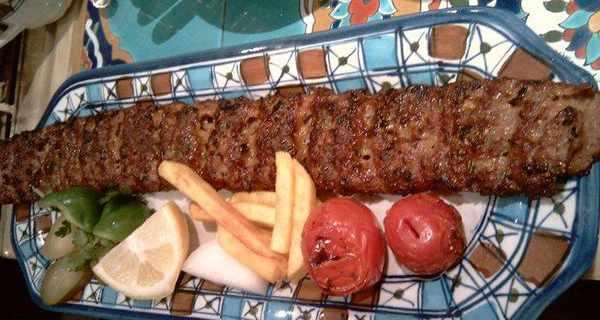 کباب ساطوری , کباب بناب , طرز تهیه کباب بناب , دستور پخت کباب بناب آذربایجان