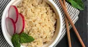 طرز تهیه برنج قهوه ای ایرانی و اصول پخت برنج قهوه ای خوشمزه