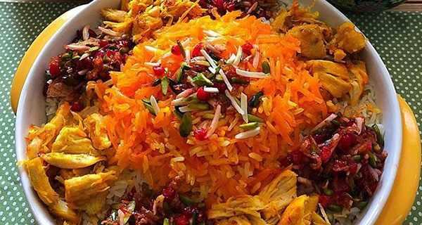 طرز تهیه هویج پلو,i,d[ \g,,دستور پخت هویج پلو,هویج پلو