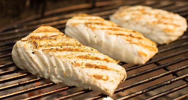 طرز تهیه کباب ماهی اوزن برون , دستور پخت استروژن کبابی خوشمزه