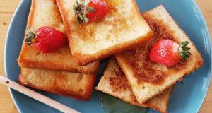 آموزش طرز تهیه نان تست فرانسوی خوشمزه در چند دقیقه