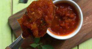 طرز تهیه خورش گوجه فرنگی مجلسی جا افتاده با گوشت