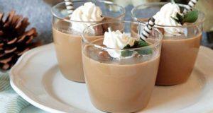 طرز تهیه پودینگ قهوه فوری اسکاتلندی خانگی خوش طعم با شیر و وانیل