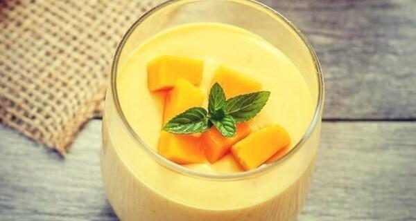 طرز تهیه دسر انبه,دسر انبه,انبه,mango,mango dessert,nsv hkfi,deser anbe