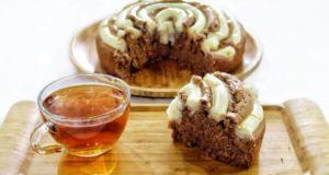 آموزش طرز تهیه کیک کرمفیل ساده شکلاتی خوش طعم و خوشمزه خانگی
