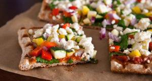 طرز تهیه پیتزا سبزیجات رژیمی